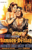 Samson and Delilah Masterprint