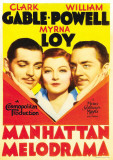 Manhattan Melodrama Masterprint