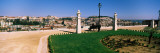 Formal Garden in a City, Alfama, Lisbon, Portugal Wall Decal by  Panoramic Images