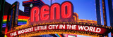 Reno, Nevada Wall Decal by  Panoramic Images