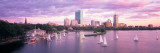 Dusk, Boston, MA Wall Decal by  Panoramic Images