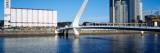 Bridge Across a River, Puente De La Mujer, Puerto Madero, Buenos Aires, Argentina Wall Decal