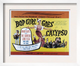 Bop Girl Goes Calypso, Judy Tyler, Bobby Troup, 1957 Prints