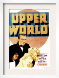Upper World, Warren William, Ginger Rogers on Midget Window Card, 1934 Prints