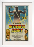 The Invisible Agent, Ilona Massey, Jon Hall, 1942 Posters