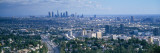 Aerial View of Los Angeles, California Wall Decal by  Panoramic Images