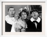 All the World's a Stooge, Curly Howard, Larry Fine, Moe Howard, 1941 Art