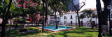 Fountain in a Park, Bolivar Square, Caracas, Venezuela Wall Decal by  Panoramic Images