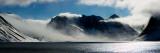 Sneklædte fjelde, Magdalenefjorden, Spitsbergen, Svalbard, Norge Wallstickers af Panoramic Images
