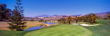 Trees in a Golf Course With Mountains in The Background, Marbella Club Hotel Wall Decal by  Panoramic Images