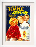 Stowaway, Shirley Temple, Alice Faye, Robert Young, 1936 Posters
