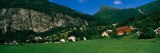 Houses in a Town, Geiranger, Norway Wall Decal by  Panoramic Images