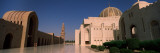 Courtyard of a Mosque, Sultan Qaboos Grand Mosque, Muscat, Oman Wall Decal by  Panoramic Images