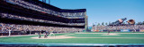 Spectator Watching Baseball Game in the Stadium, San Francisco Wall Decal by  Panoramic Images