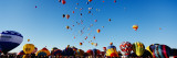 Hot Air Balloons at the International Balloon Festival, Albuquerque, New Mexico Wall Decal by  Panoramic Images