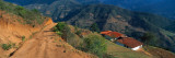 Houses at The Mountainside, San Rafael De Mucuchies, Merida State, Andes, Venezuela Autocollant mural par  Panoramic Images