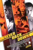 Never Back Down Masterprint