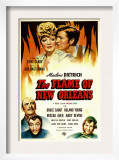 The Flame of New Orleans, Marlene Dietrich, Roland Young, 1941 Poster