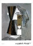 Tête de femme Posters par Pablo Picasso