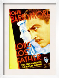 Long Lost Father, Helen Chandler, John Barrymore, 1934 Poster