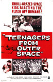 Teenagers From Outer Space Masterprint