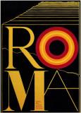 Fellini's Roma Masterprint