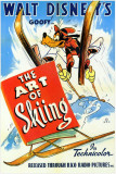 The Art of Skiing Masterprint