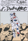 CNAC Collectable Print by Jean Dubuffet