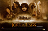 Lord of the Rings 1: The Fellowship of the Ring Masterprint