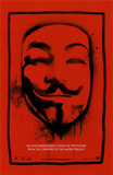 V for Vendetta Masterprint