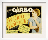 As You Desire Me, Greta Garbo, 1932 Posters