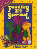 Barney: Families Are Special Masterprint