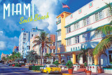 South Beach, Miami Posters