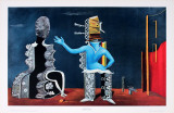 Het Paar (Couple) Prints by Max Ernst