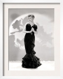 Lucille Ball Models a Lovely Black Gown, Publicity Still, 1940's Posters