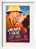 The Woman I Stole, Jack Holt, Fay Wray on Midget Window Card, 1933 Print