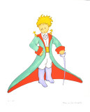 The Little Prince and his Cape Limited Edition by Antoine de Saint-Exupéry