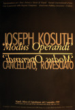 Modus Operandi Prints by Joseph Kosuth