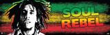 Bob Marley-Soul Rebel Kunstdrucke