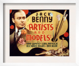 Artists and Models, Jack Benny, 1937 Posters