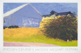Barn and Forsythia III Serigraph by Wolf Kahn