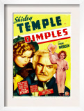 Dimples, Shirley Temple, Frank Morgan, Shirley Temple on Midget Window Card, 1936 Posters