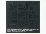 Pace/Columbus Prints by Louise Nevelson