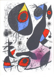 A L'Encre I Collectable Print by Joan Miró