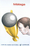 Malaga, Mundial Collectable Print by Roland Topor