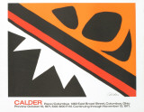 La Grenouille et la Scie (small) Collectable Print by Alexander Calder