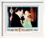 The Man Who Reclaimed His Head, Lionel Atwill, Joan Bennett, 1934 Prints