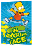 The Simpsons - In your face Poster