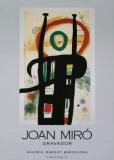 Female Figure Posters by Joan Mir&#243;