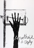 Apartheid is Ugly Collectable Print by Paul Rebeyrolle